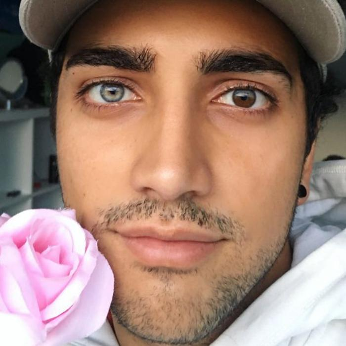Мужчина с самыми большими глазами фото