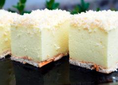 Рецепт простого и вкусного десерта без выпечки «Снежный пух»